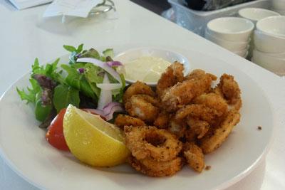 adelaide beach cafe calamari