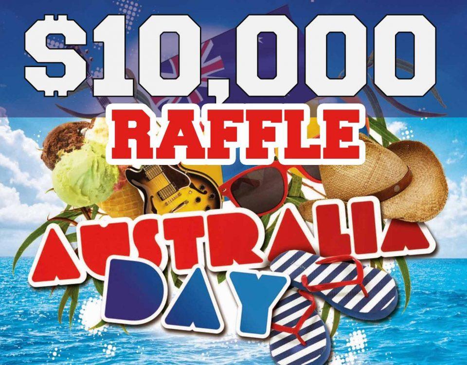 Australia Day $10000 Raffle